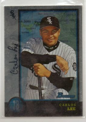 1998 Bowman International #428 Carlos Lee