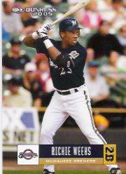 2005 Donruss #231 Rickie Weeks