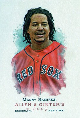 2007 Topps Allen and Ginter #161 Manny Ramirez