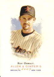 2007 Topps Allen and Ginter #86 Roy Oswalt