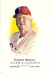 2007 Topps Allen and Ginter #94 Charlie Manuel