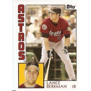 2008 Topps Trading Card History #TCH39 Lance Berkman