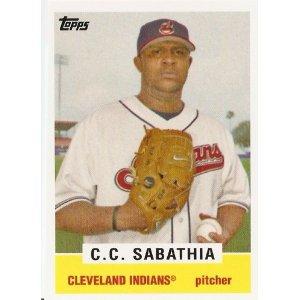 2008 Topps Trading Card History #TCH46 C.C. Sabathia