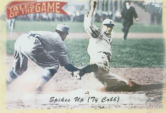 2010 Topps Tales of the Game #TOG1 Spikes Up