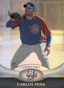 2011 Bowman Platinum #81 Carlos Pena