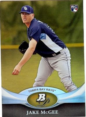 2011 Bowman Platinum Gold #27 Jake McGee