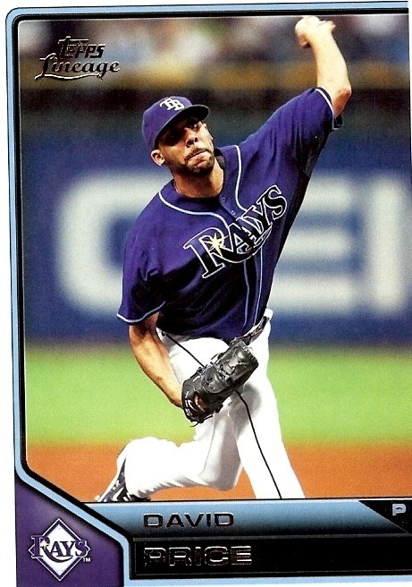 2011 Topps Lineage #88 David Price