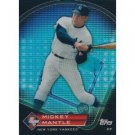 2011 Topps Prime 9 Player of the Week Refractors #PNR7 Mickey Mantle