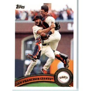 2011 Topps #552 San Francisco Giants TC