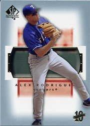 2003 SP Authentic #21 Alex Rodriguez