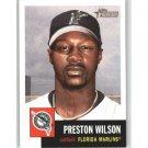2002 Topps Heritage #100 Preston Wilson