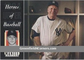 1994 Upper Deck All-Time Heroes #222 Mickey Mantle HB