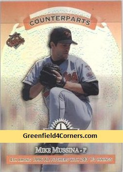 1997 Donruss Limited Exposure #155 Mussina/Hill