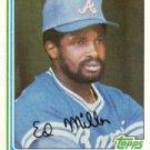 1982 Topps #451 Ed Miller