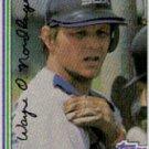 1982 Topps #597 Wayne Nordhagen