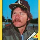 1986 Woolworth's Topps #17 Carney Lansford