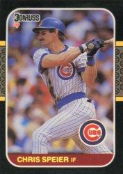 1987 Donruss #392 Chris Speier