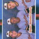 1988 Donruss 625 Ripken Family/Cal Ripken Sr./Cal Ripken Jr./Billy