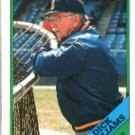 1988 Topps 104 Dick Williams MG