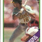 1988 Topps 448 Mike Davis