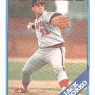 1988 Topps 601 Jack Lazorko