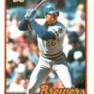 1989 Topps 718 Glenn Braggs