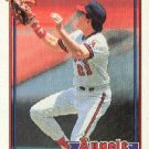 1991 Topps 195 Wally Joyner