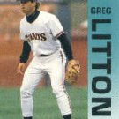 1992 Fleer 640 Greg Litton