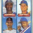 1992 Topps 591 Jeromy Burnitz/Jacob Brumfield/Alan Cockrell