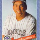 1993 Hostess #18 Andres Galarraga