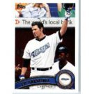 2011 Topps #587 J.P. Arencibia