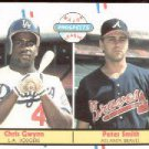 1988 Fleer 647 Pete Smith/Chris Gwynn RC