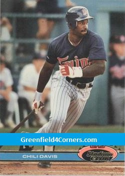 1991 Stadium Club #329 Chili Davis