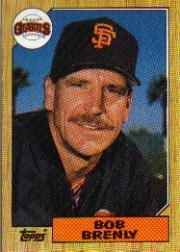 1987 Topps 125 Bob Brenly