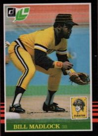 1985 Leaf/Donruss #185 Bill Madlock