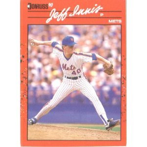 1990 Donruss 408 Jeff Innis - Rookie Card (RC)