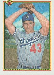1990 Bowman 87 Mike Hartley RC