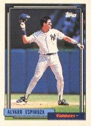 1992 Topps #243 Alvaro Espinoza