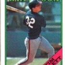 1988 Topps 158 Tim Hulett