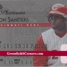 1995 Studio Platinum Series #20 Deion Sanders