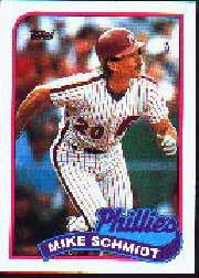 1989 Topps 100 Mike Schmidt