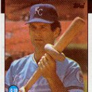 1986 Topps 128 John Wathan
