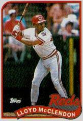 1989 Topps 644 Lloyd McClendon