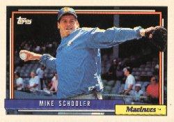 1992 Topps 28 Mike Schooler
