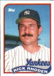 1989 Topps 18 Rick Rhoden