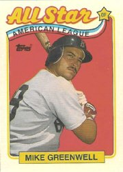 1989 Topps 402 Mike Greenwell AS