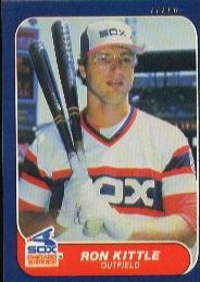 1986 Fleer #210 Ron Kittle