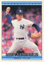 1992 Donruss 195 Scott Kamieniecki