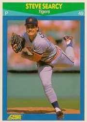 1990 Score Rising Stars #97 Steve Searcy
