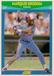 1990 Score Rising Stars #99 Marquis Grissom